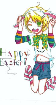 Happy Easter by candykc22
