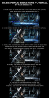 Basic Signature Tutorial: Batman by PainSindicate