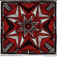 Cherry Avenue Mandala by Quaddles-Roost