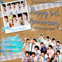 Super Junior: Happy 6th Anniversary by AllRiseHyuk