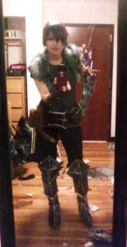 Hawke WIP - Dragon Age II by Aicosu