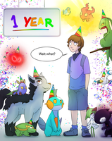 One Year Already? by Epifex
