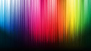 Silky Rainbow Curtain by This-Lovely-Horse