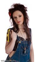 Dungarees and Yellow Shades by Casslass