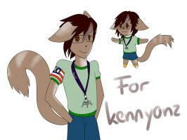 Kenny's OC [Contest Entry] by Sallidii