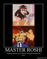 Master Roshi Demotivational by Onikage108