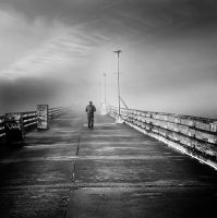 alone, this cold evening by VaggelisFragiadakis