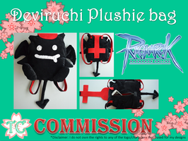 Deviruchi Plushie Bag by TealCreations