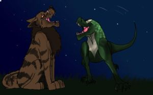 Scaley and Howl by Malbet