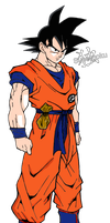 Goku Namek render by Supergoku37