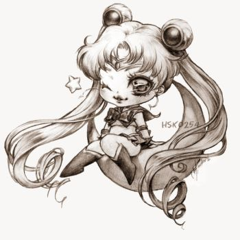 Chibi Sailor Moon by Hsk0254