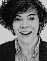 Harry Styles - Graphite and Charcoal by Romeoartist