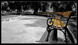 Parkbenches by dReadSolJah