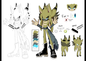 Haikon the Hedgehog Ref by Jan-01