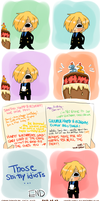 02.03.2013. HAPPY BIRTHDAY, SANJI-KUN! by IcchPOTATO