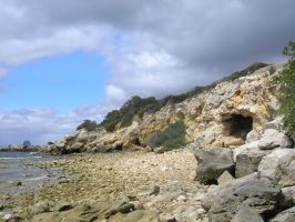 Cave on the Beach by TasermonsPartner