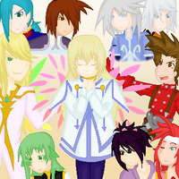 Tales of Symphonia Poster by RoseMuto