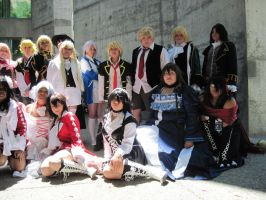 Pandora Hearts Group 2 by TheSapphireDragon1
