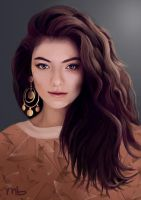 Lorde by ManonBuizert