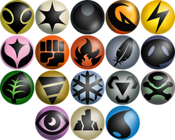 Neo Redux Energy Type Icons by ILKCMP