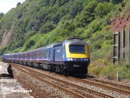 First Great Western 43131 at Teignmouth by The-Transport-Guild