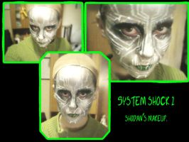 Shodan make up by GBlastGirl