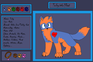 Toby Ref 2 by Toby-Wolfkat