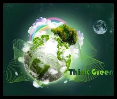 Think Green by Nikki-1986