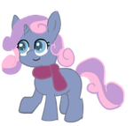 Sweetie Quill Happy by RestartBob