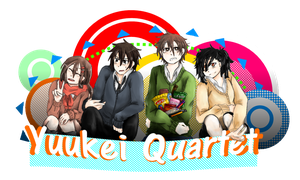Yuukei Quartet by bloom987654322