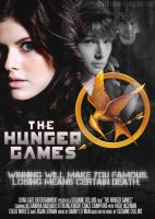 THE HUNGER GAMES MOVIE COVER by itstoodark