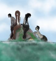 Magnificent Selkie Bitches by FrostySheeps