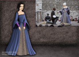 Anne Boleyn- Execution Gown by EriksAngelOfMusic22