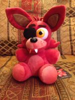 Sanshee Foxy Plush arrived!! by PukingRainbow