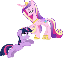 Princess Cadance Comforts Twilight Sparkle by 90Sigma