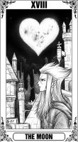 KH Tarot: The Moon by Autumn-Sacura