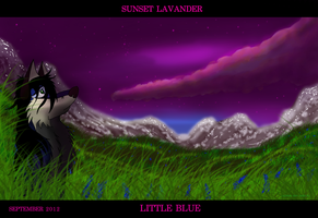 SUNSET LAVANDER by alphakw