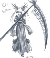 Maka Black Blood form- Soul Eater by MESS-Anime-Artist