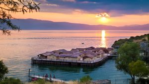 Ohrid Lake Sunset II by PortraitOfaLife