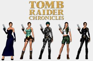Tomb Raider Chronicles - Lara's outfits by HailSatana