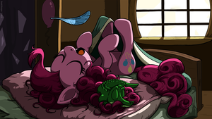 Pinkie Sleepy Time WALLPAPER by anttosik
