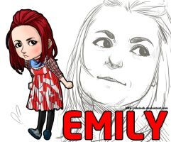 Emily on skins 3 by elaineK