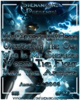 MCMB Show Flyer II by TheCaptainSteve