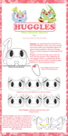 New Species Guide: The Huggle by KittyofCUTENESS