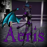 Dark Aeris by Dragoliza