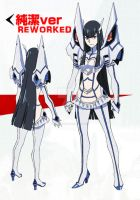 KILL LA KILL - Satsuki Kiryuin Reworked Costume by EyebrowScar