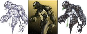 Venom befores and afters by ChrisOzFulton