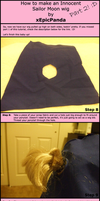 Sailor Moon Wig Tutorial Part2 by xEpicPanda