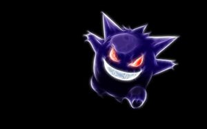 Gengar Wallpaper by Phase-One
