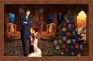 The Amorous Present by 3punkins